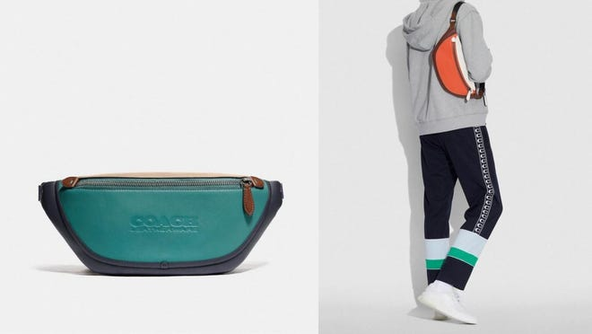 Get in on the fanny pack fad with this Coach belt bag.