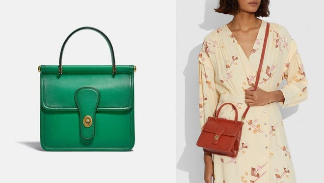 This purse packs a punch in both the function and fashion departments.