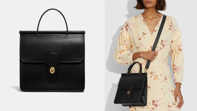 Reviewers say this bag is on par with other high-end couture brands.