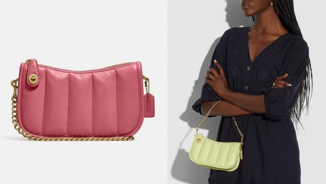 This Coach purse is petite yet practical.