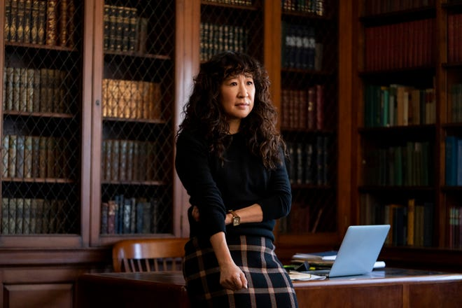 """Sandra Oh assumes a new position in """"The Chair,"""" one not previously held by a woman of color."""