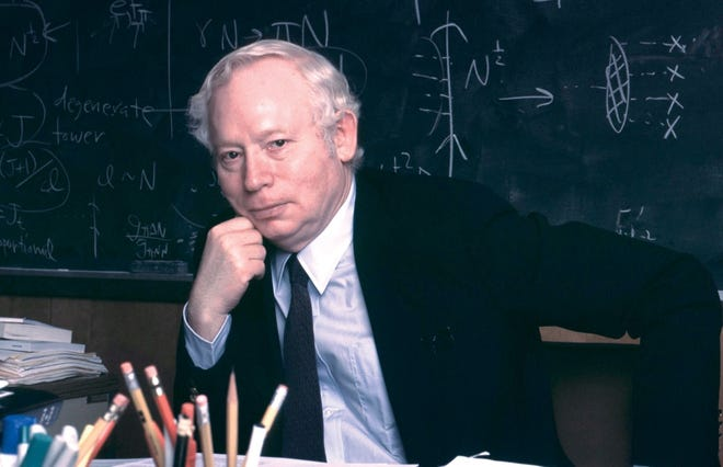 University of Texas physics professor and Nobel Prize winner Steven Weinberg is best known for his work on a central theory describing the properties and interactions of known particles and forces within the universe.
