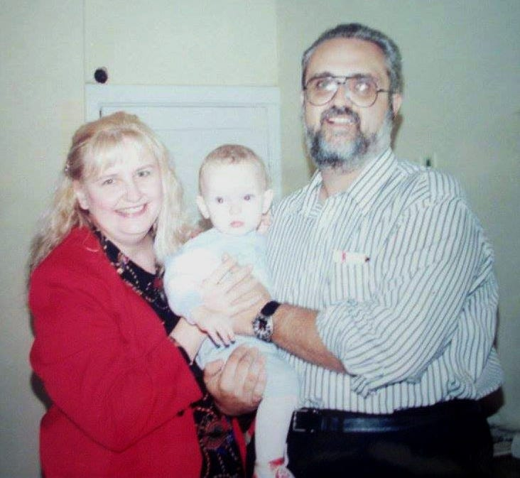Ethan Walker, with his adopted parents, Bill and Dottie Walker of Hookstown, Beaver County, was adopted from a Russian orphanage in 1994. His family remained friends with other western Pennsylvania families who adopted children from Russia. Walker married one of his adopted friends, Theresa Raydo of Millcreek, on Jan. 9.