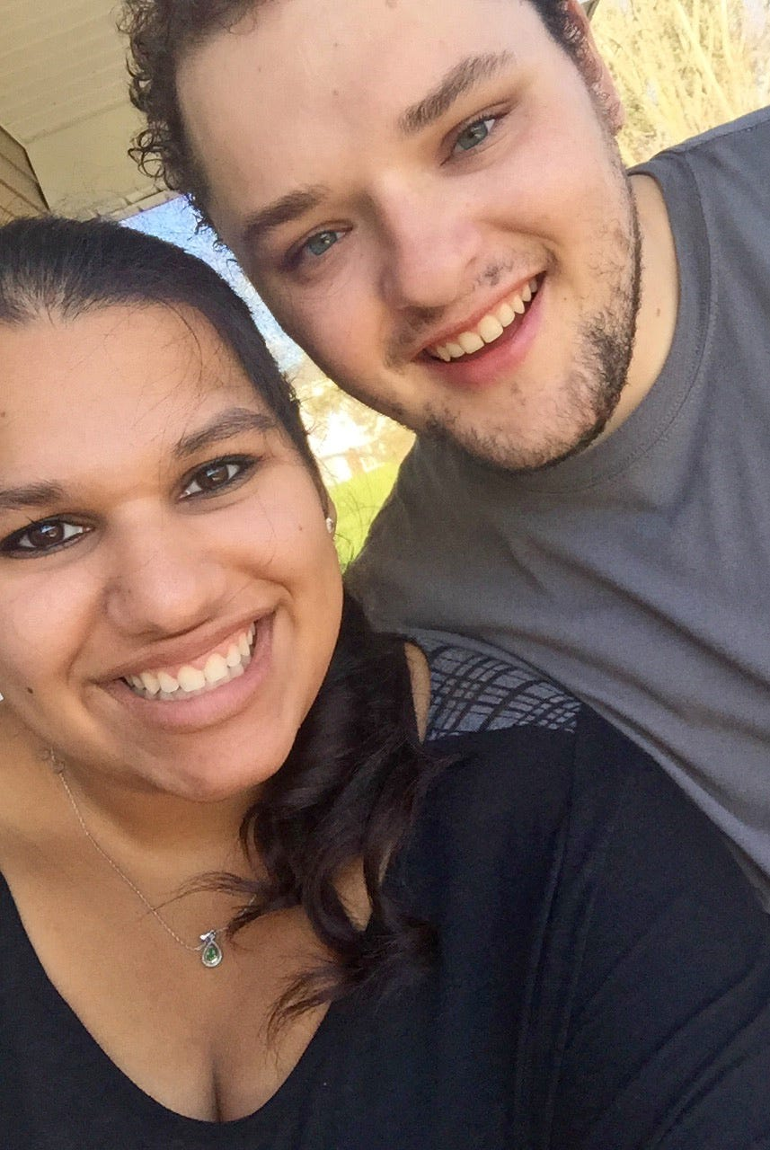 Shown here on April 10, 2015, Ethan Walker of Hookstown, Beaver County, and Theresa Raydo of Millcreek Township, Erie County, were friends their entire lives before falling in love.
