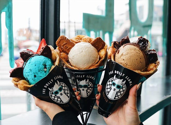 A husband-and-wife team — Josh and Wendy Popkin — plan to open their first franchise of the Dolly Llama Waffle Master in Ponte Vedra Beach in early 2022.