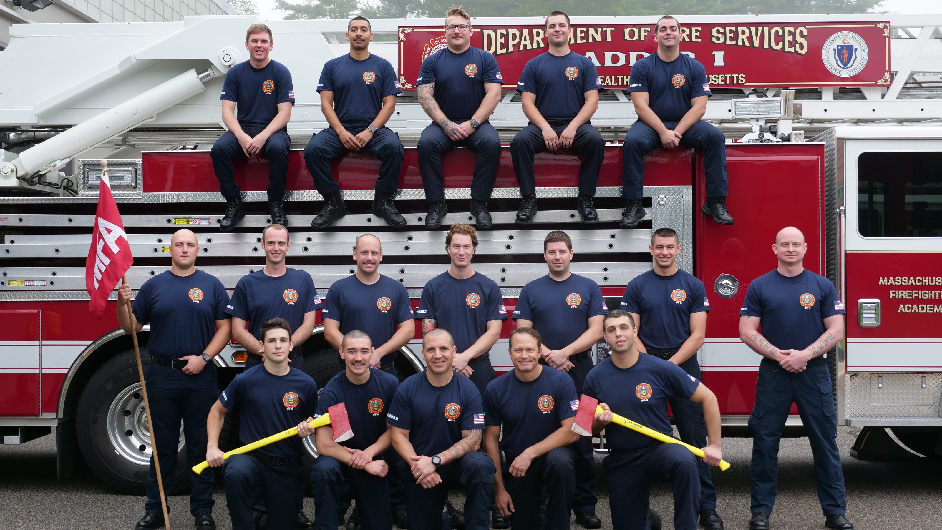 Local firefighters graduate from state fire academy