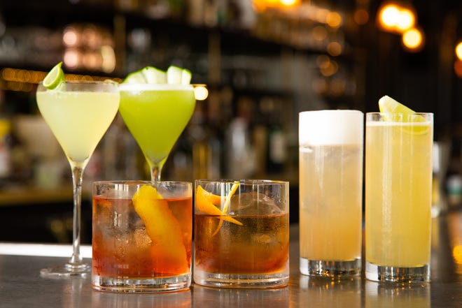 Six new summer cocktails are featured at La Goulue.