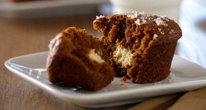 Gingerbread Secret Muffins