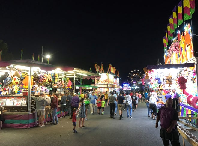 Games, rides and food are among the items available on the Quantum PC Midway at this year's 150th annual Door County Fair, running from July 28 to Aug. 1.