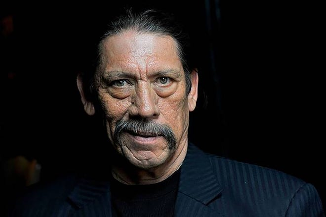 """""""Trejo: My Life of Crime, Redemption, and Hollywood"""" author Danny Trejo."""