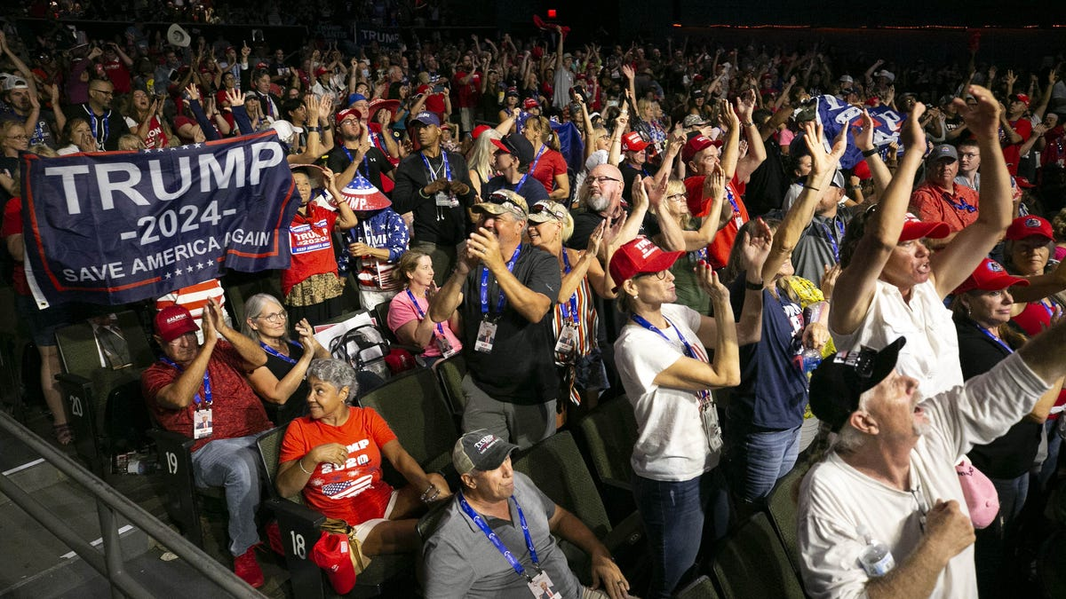 Trump rally updates: Trump supporters say they're not what people say they are