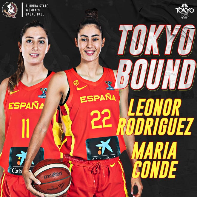Florida State alums Leonor Rodriguez and Maria Conde are playing for Spain in the Tokyo Olympics