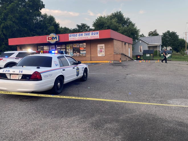 Officers with the Zanesville Police Department responded to a shooting late Friday at the Dairy Mart on Pine Street in Zanesville. Two suspects were taken into custody after a multiple-hour standoff outside of a residence on Nancy Avenue, according to ZPD Chief Tony Coury.