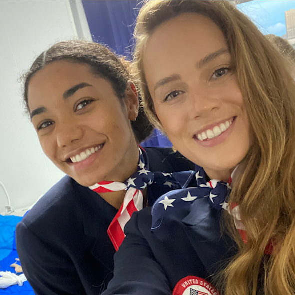 Experience the opening ceremony through the eyes of US volleyball player Kelsey Robinson