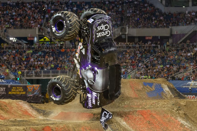 Elvis Lainez will drive the Great Clips Mohawk Warrior at Monster Jam, July 31-Aug. 1.