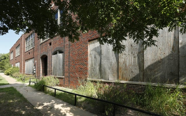Former Harmony School, 1537 NE 24, to become affordable housing.