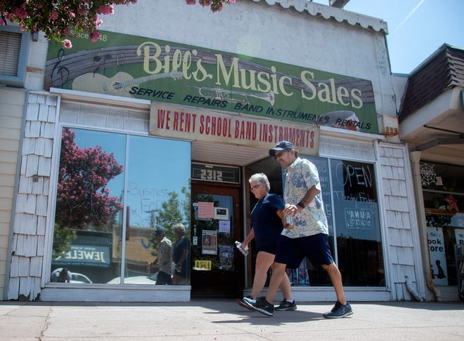 The owner of Bill's Music, Al Ramirez, recently passed away and his wife Tammy Ramirez is now looking for a buyer for the business on the Miracle Mile in Stockton.