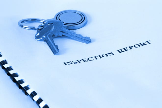 You should do your own research before hiring an inspector.