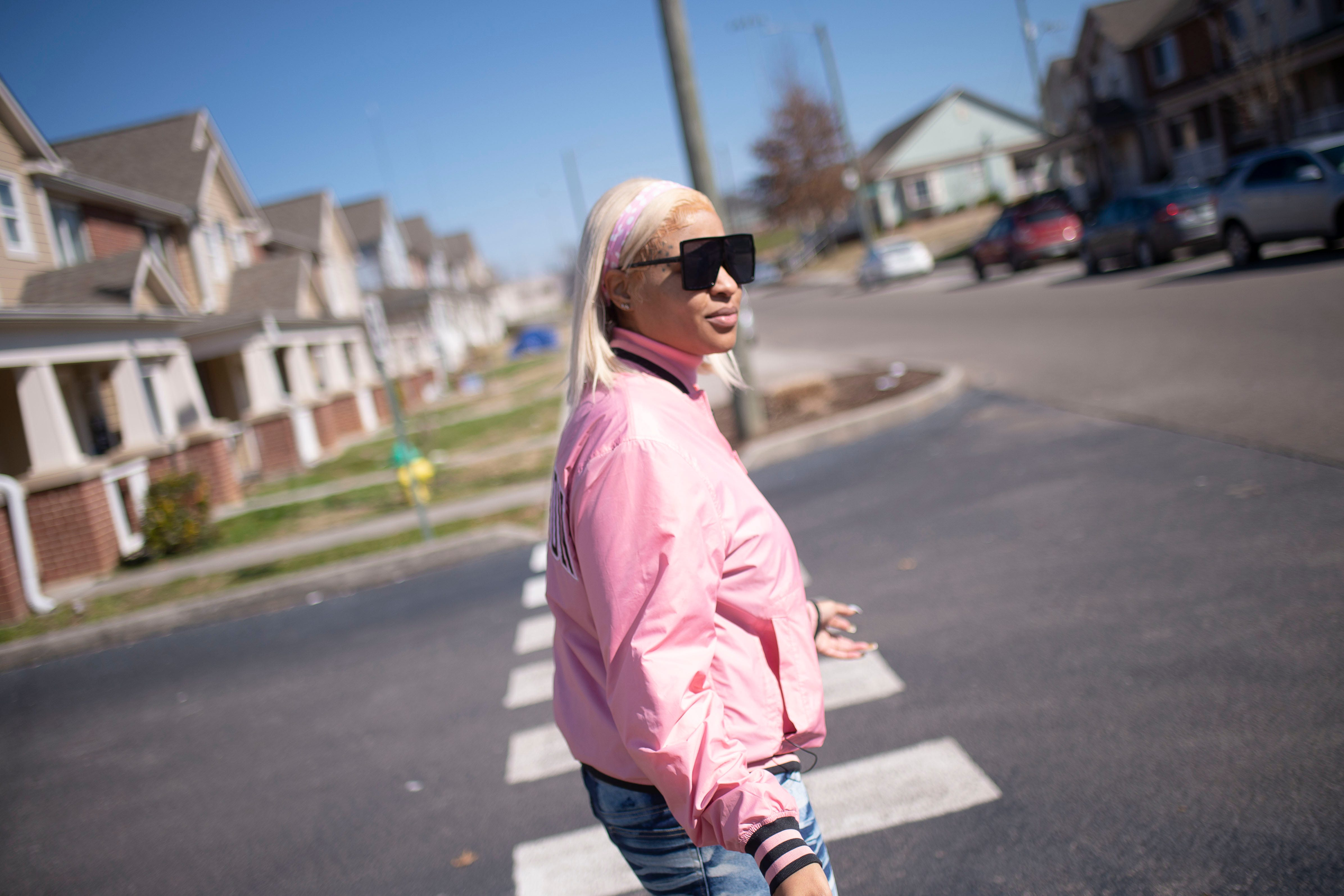 Niya Goins walks through the Lonsdale neighborhood she grew up in, stopping to talk to fans who recognize her for the music she's been creating since last year. But recognition does not equal rewards, and Goins has since moved on to Atlanta to start her career in a city with more musical resources and a higher level of acceptance for the rap and hip-hop genres.