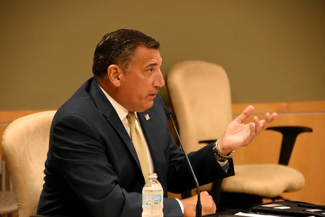 Collier County Commissioner Rick LoCastro provides an update on county matters. The Marco Island City Council met in a lengthy series of meetings July 19 at the council chambers.