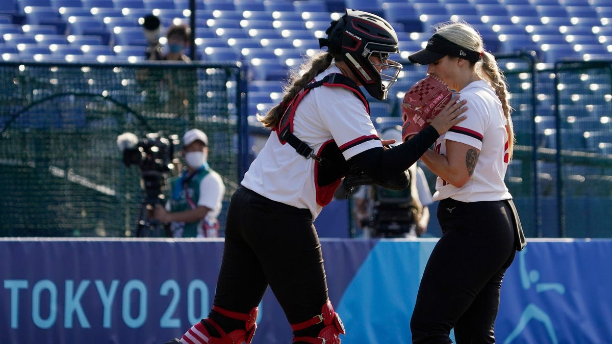 Oh, Canada: Softball team wins protest but Canadian team loses opportunity for gold