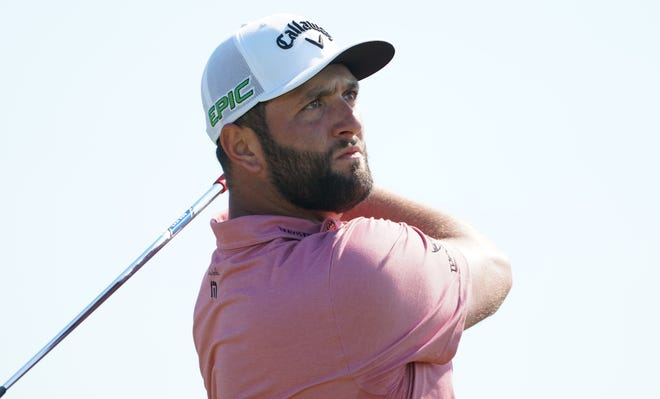 Jon Rahm will not participate in the Olympics after testing positive for the coronavirus.