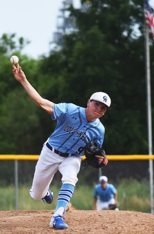Spencer Hansen was one of three Colo-NESCO players chosen to the all-ISC South first team in baseball for the 2021 season.
