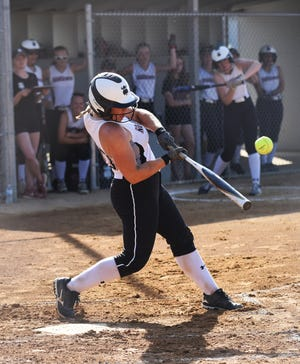 Roland-Story's Macy Friest hit .447 with 42 RBIs to earn first-team all-state recognition in Class 1A for softball by the IGCA in 2021.