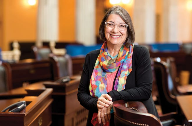 """State Sen. Nickie Antonio has introduced legislation granting LGBTQ+ people civil rights in the Ohio General Assembly several times. It has never passed. """"How do you recruit the best and brightest from the LGBTQ community when presenting them with a patchwork quilt of rights?"""""""