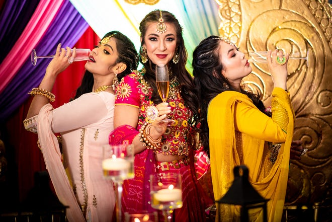 Celebrating, sangeet-style, with B3 Event
