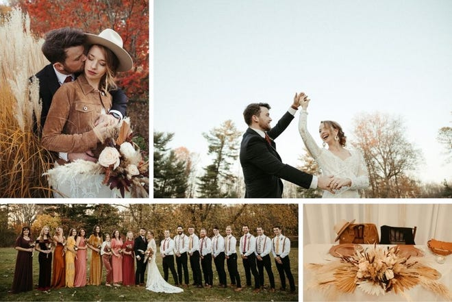 India and Ian McCue were married last November at Beverly Mansion.