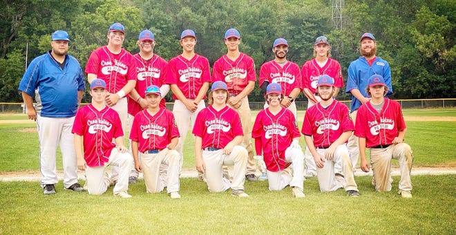 The Crookston American Legion baseball team and coaches are pictured. (Not pictured is Cade Coauette.)