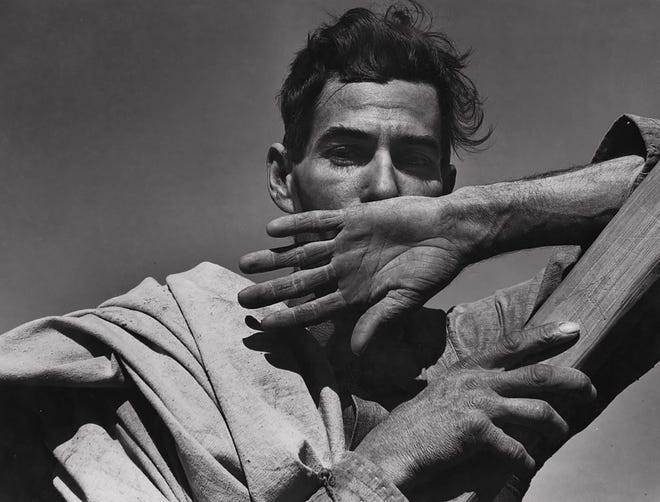 Documented photographs from the Great Depression feature photos such as Migratory Cotton Picker, Eloy, Arizona, Dorothea Lange, November 1940, US Farm Security Administration, now through Aug. 14 at the Stauth Memorial Museum in Montezuma.