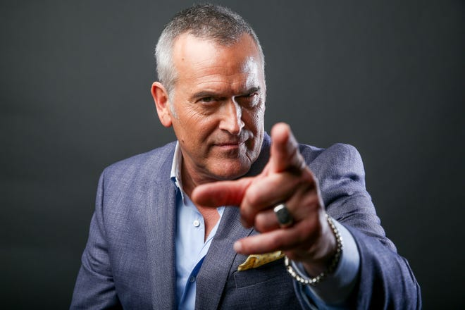 """Bruce Campbell is at the Florida Theatre on Friday to screen  """"The Evil Dead."""""""