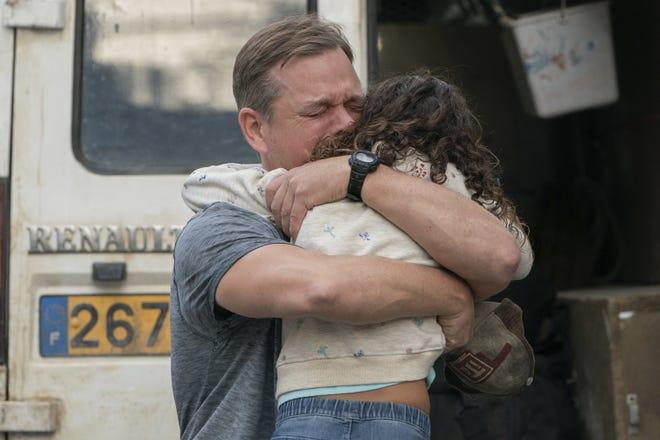 "Matt Damon and Lilou Siauvaud star in ""Stillwater."""