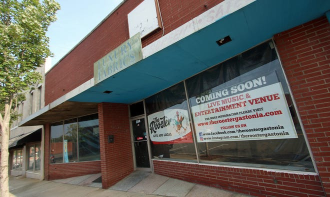The exterior of The Rooster coming soon to West Main Avenue in Gastonia.