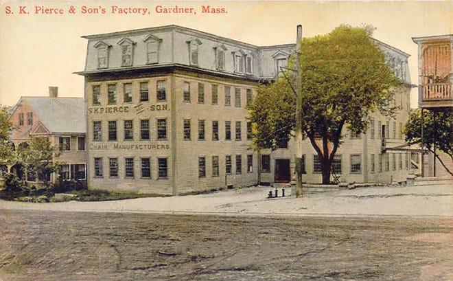 The S.K. Pierce & Son factory in Gardner.