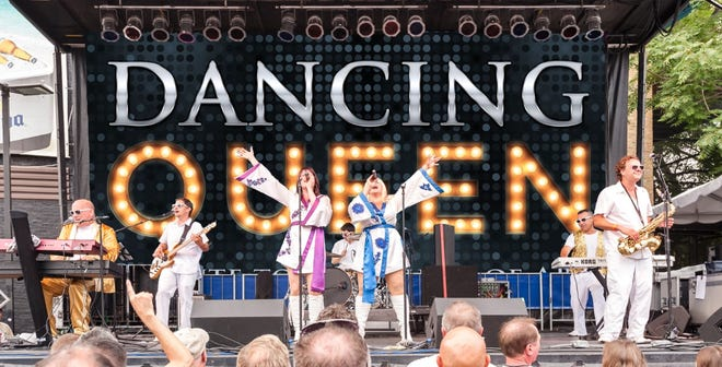Dancing Queen will appear in the village Park on Saturday August 7 as part of the Bishop Hill 175th Anniversary.