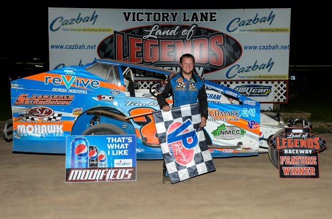 Erick Rudolph is a Big-Block Modified winner at Canandaigua for the second straight race.