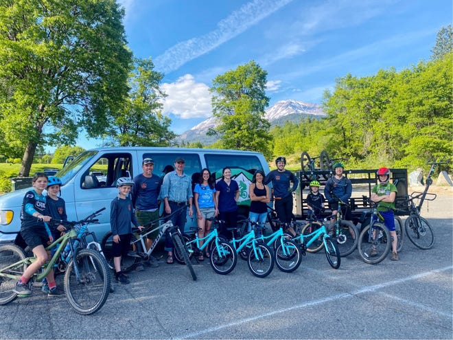 SORA's fleet of loaner bikes are for kids to check out, so they can enjoy all the outdoor activities the Mt. Shasta area has to offer.