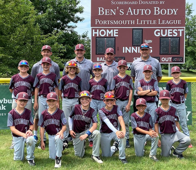 The Portsmouth Little League 8-10 all-star team beat North Manchester Hooksett League League on Saturday in the District 2 championship game and will play in the state tournament stating Saturday in Laconia.