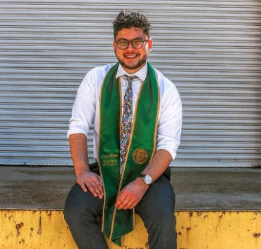 Evan Reed will be working with Stafford County Economic Development and Gray Photography Studio as the AmeriCorps Arts-Focused Community Relations VISTA. He is originally from Santa Clarita, Calif.