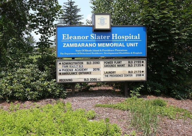 Eleanor Slater Hospital's Zambarano Unit in Burrillville.