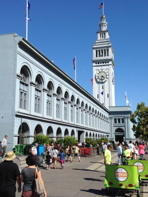 San Francisco's Ferry Building is 123 years old.