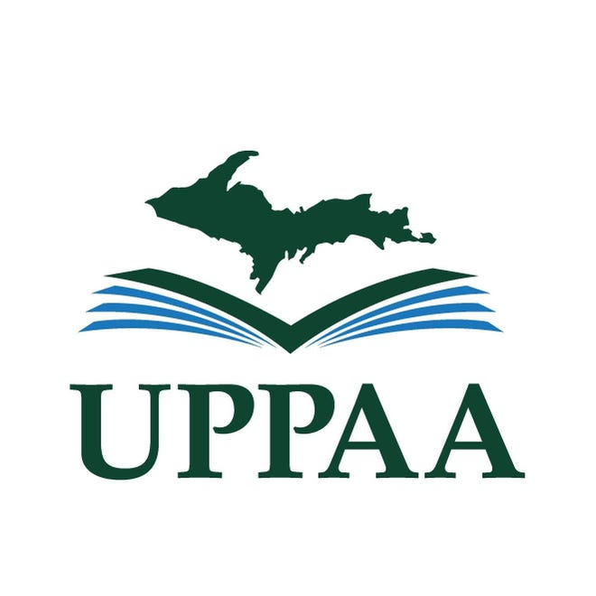 The Upper Peninsula Publishers and Authors Association logo.