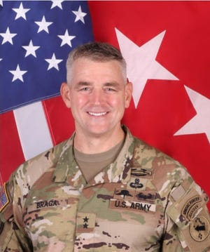 Maj. Gen. Jonathan Braga will become the new commander for the U.S. Army Special Operations Command.