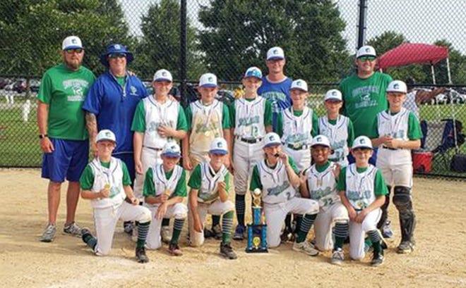 The Southport Mudcats 11U travel baseball team