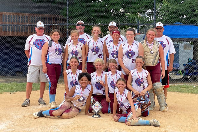 The PAL Enforcers 12U softball team