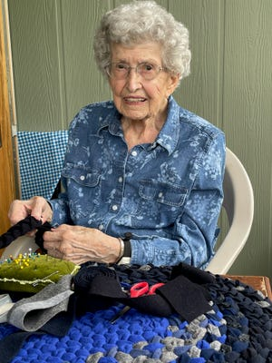 Ernestine Miller is staying active at 97.