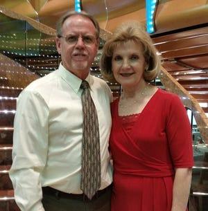 John Thomas with his wife Peggy Thomas